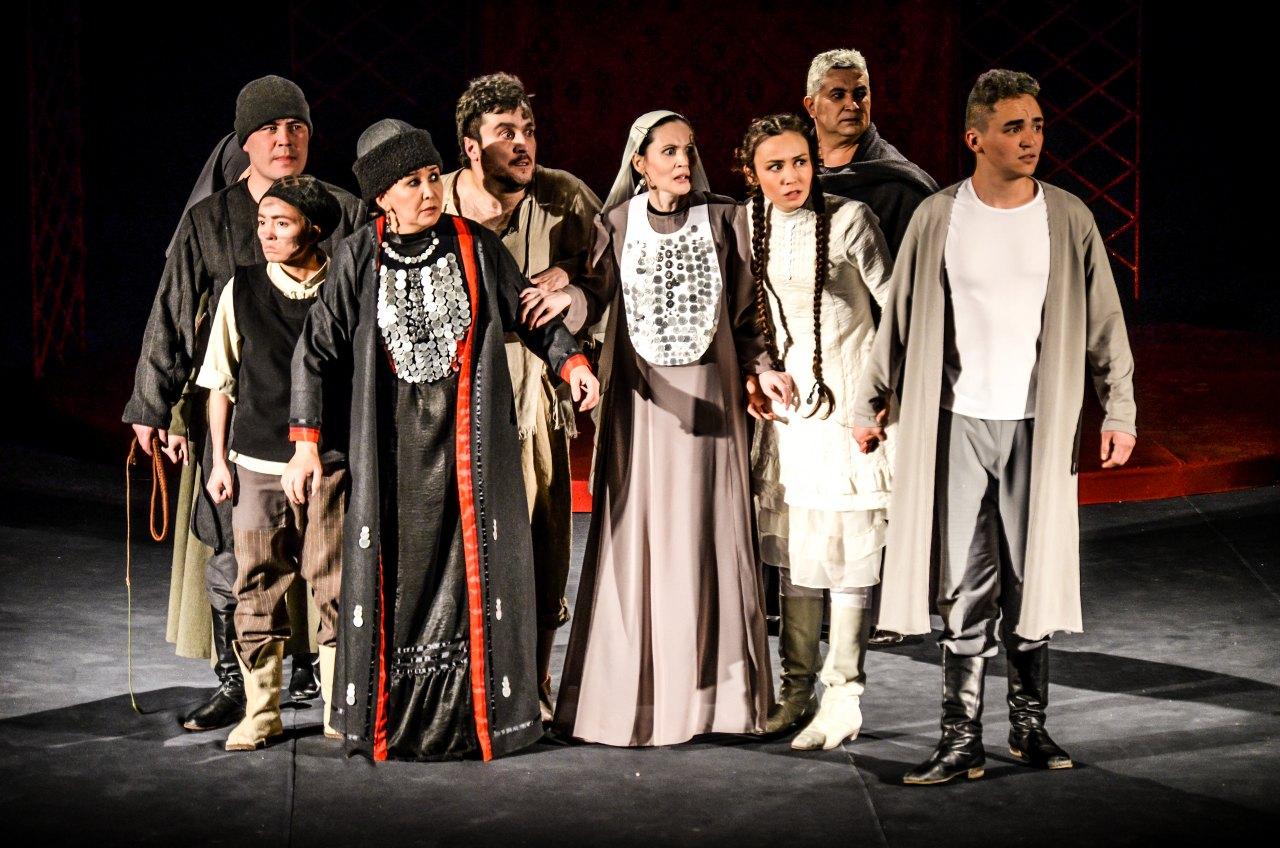 Башкирский драматический театр СГТКО на Театральном декаднике в городе Уфа