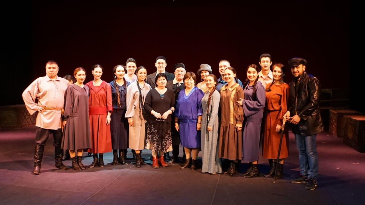 Исторический спектакль «Ашҡаҙар» – первый спектакль Башкирского театра драмы в городе Стерлитамак…