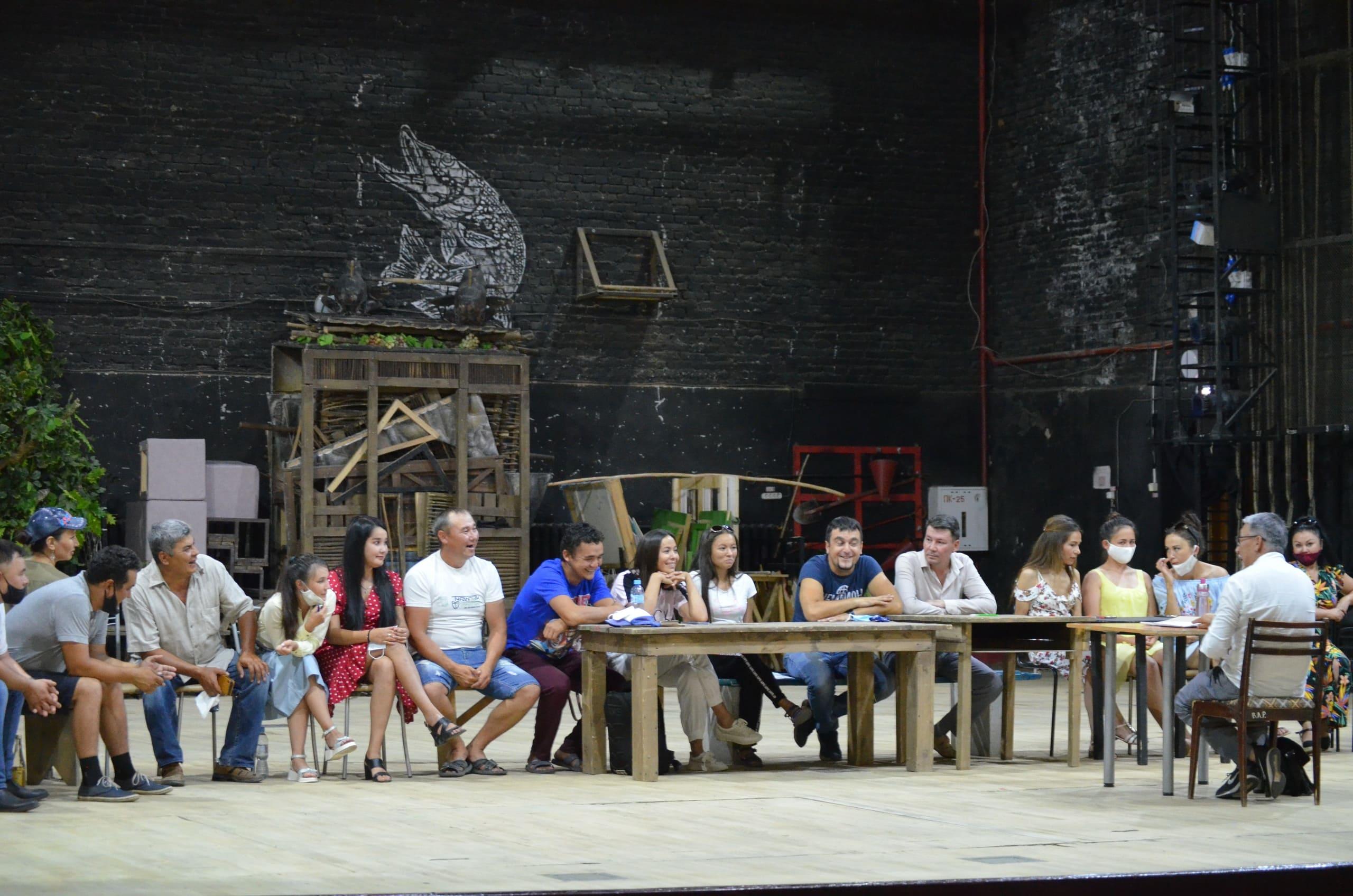Коллектив башкирского драматического театра СГТКО приступил к работе после летнего отпуска