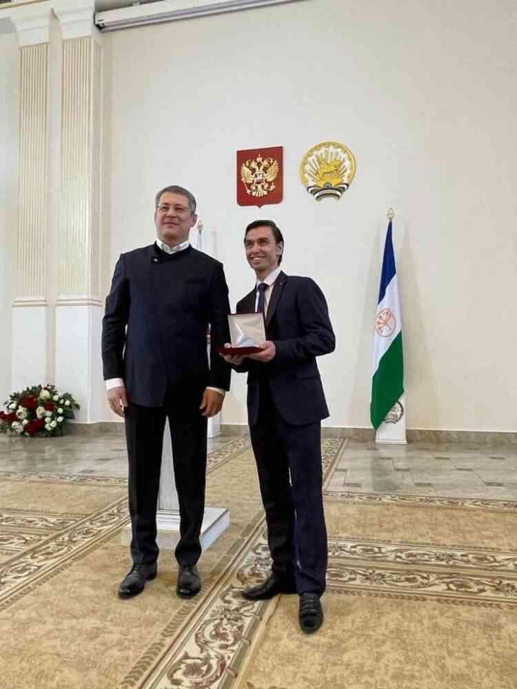 В Уфе состоялась торжественная церемония вручения государственных наград