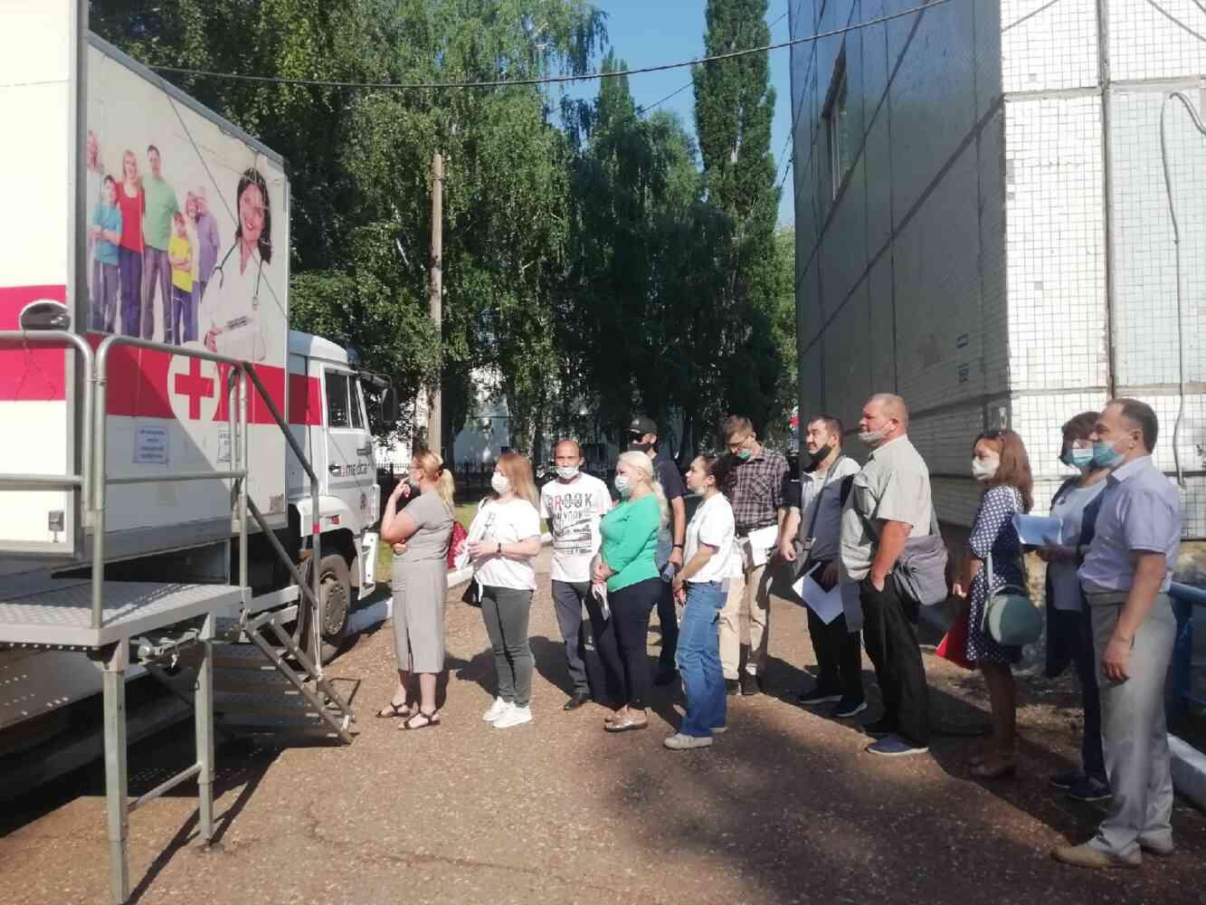 Вакцинация сотрудников СГТКО